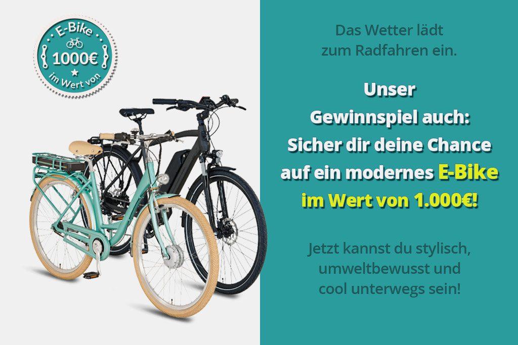 E-Bike Gewinnspiel - Onlinegewinndirekt.de