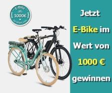 E-Bike Gewinnspiel - kostenlose Gewinnspiele