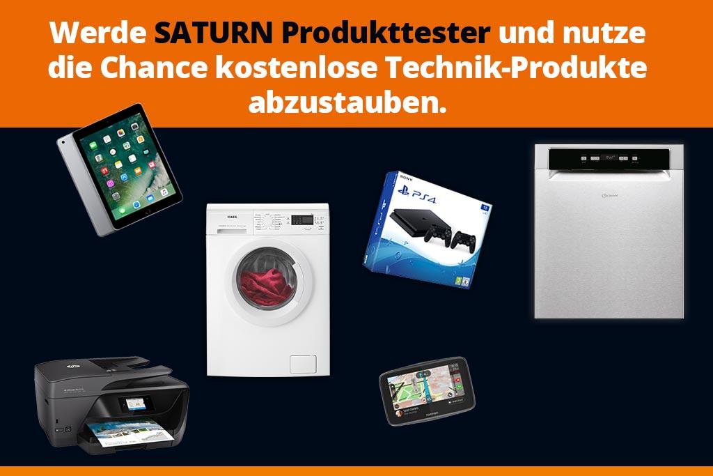 Saturn Produkttester gesucht - Onlinegewinndirekt.de