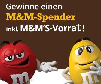 M&M'S-Gewinnspiel