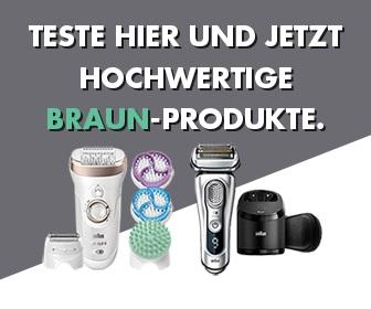 Braun Produkttester werden - kostenlose Gewinnspiele