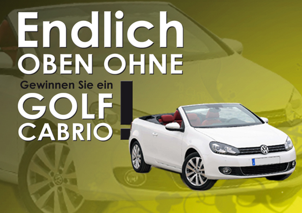 Golf Cabrio Gewinnspiel
