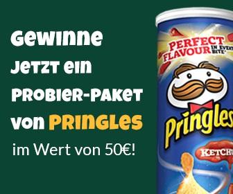 Pringles-Paket gewinnen - kostenlose Gewinnspiele