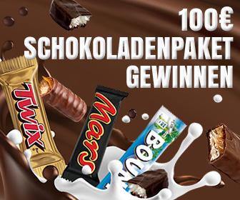 Schokoladen-Paket gewinnen - onlinegewinndirekt.de - home