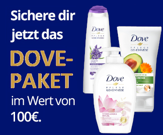 Dove Produkte gewinnen - kostenlose Gewinnspiele