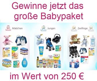 Babypaket Gewinnspiel - onlinegewinndirekt.de - home