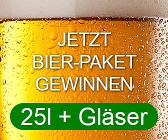 Bier-Paket Gewinnspiel - onlinegewinndirekt.de - home