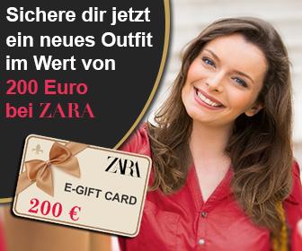 Zara Gutschein gewinnen - kostenlose Gewinnspiele