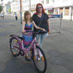 Fahrrad Gewinnspiel Gewinnerin Katja